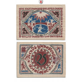 Notgeld der besonderen Art, Bielefeld, 25 Mark 15.7.1921, I