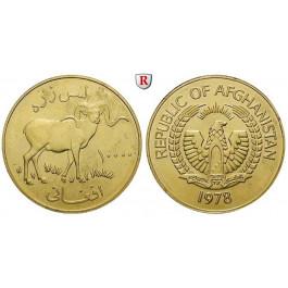 Afghanistan, Republik, 10000 Afghanis 1978, 30,1 g fein, st