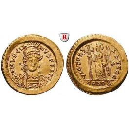 Römische Kaiserzeit, Marcianus, Solidus 450-457, ss-vz