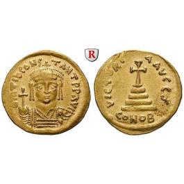 Byzanz, Tiberius II. Constantinus, Solidus 579-582, vz-st