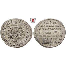 Deutscher Orden, Ludwig Anton von Pfalz-Neuburg, Groschen (3 Kreuzer) 1694, vz
