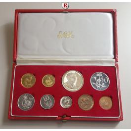 Südafrika, Republik, Kursmünzensatz 1969, PP