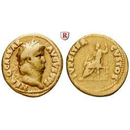 Römische Kaiserzeit, Nero, Aureus 66-67, ss