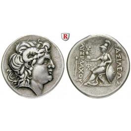 Thrakien, Königreich, Lysimachos, Tetradrachme um 270-250 v.Chr., ss