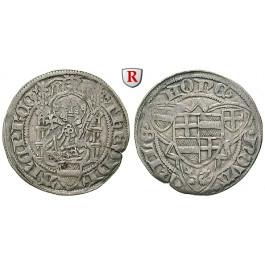 Köln, Bistum, Dietrich II. von Mörs, Weißpfennig o.J. (um 1451), ss+