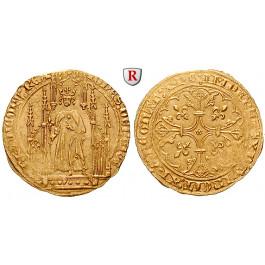 Frankreich, Jean II. le Bon, Royal d´or o.J. (1359), ss-vz