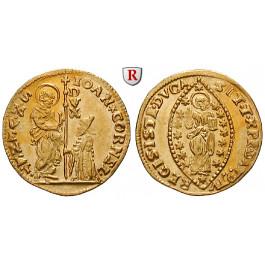 Italien, Venedig, Giovanni Corner II., Zecchino o.J., vz