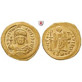 Byzanz, Justinian I., Solidus 527-565, vz