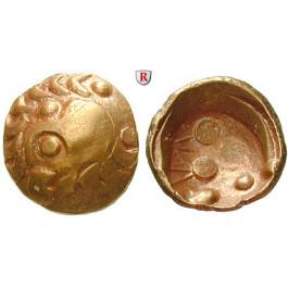 Süddeutschland, Vindelici, Regenbogenschüsselchen-Stater 150-50 v.Chr., f.vz