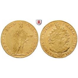 Österreich, Kaiserreich, Franz II. (I.), Dukat 1792, f.vz