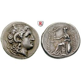 Thrakien, Königreich, Lysimachos, Tetradrachme 297-281 v.Chr., vz