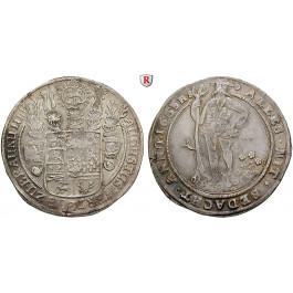 Braunschweig, Braunschweig-Wolfenbüttel, August der Jüngere, Reichstaler 1653, ss+