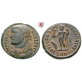Römische Kaiserzeit, Licinius I., Follis 317-320, vz+