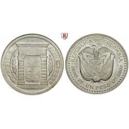 Kolumbien, Republik, Peso 1956, vz-st