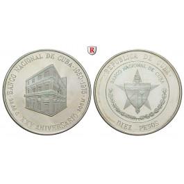 Kuba, 10 Pesos 1975, PP
