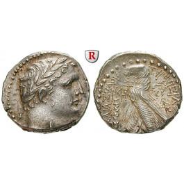 Judaea - Herodianer, Herodes Archelaos, Schekel Jahr 128=2-3 n.Chr., vz