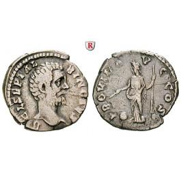Römische Kaiserzeit, Clodius Albinus, Caesar, Denar 193, f.ss