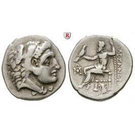Makedonien, Königreich, Alexander III. der Grosse, Drachme 310-297 v.Chr., ss