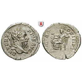 Römische Kaiserzeit, Septimius Severus, Denar 209, vz