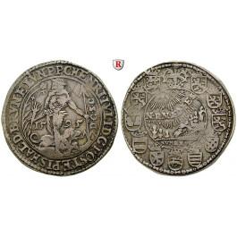 Braunschweig, Braunschweig-Wolfenbüttel, Heinrich Julius, Reichstaler 1595, ss