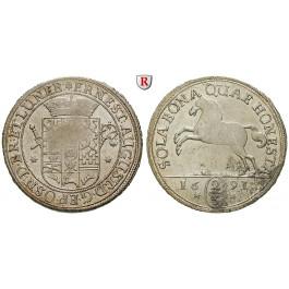 Braunschweig, Braunschweig-Calenberg-Hannover, Ernst August, 2/3 Taler 1691, vz