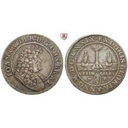 Braunschweig, Braunschweig-Calenberg-Hannover, Johann Friedrich, 2/3 Taler 1679, ss+