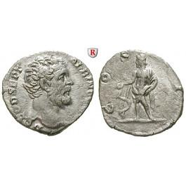 Römische Kaiserzeit, Clodius Albinus, Caesar, Denar 194-195, ss-vz