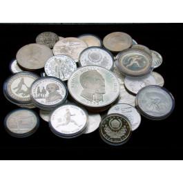 Münzen der Welt, Diverse Herrscher, Diverse Nominale, 900,0 g fein