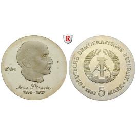 DDR, 5 Mark 1982, Planck, PP, J. 1584