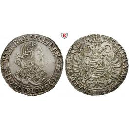 Römisch Deutsches Reich, Ferdinand III., Taler 1656, ss-vz/vz