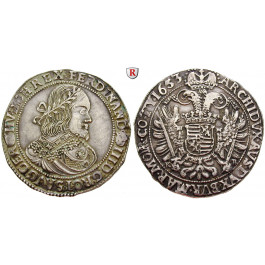 Römisch Deutsches Reich, Ferdinand III., Taler 1653, ss