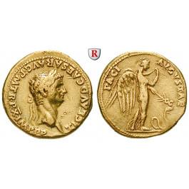 Römische Kaiserzeit, Claudius I., Aureus 50-51, ss+