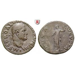 Römische Kaiserzeit, Galba, Denar Juli 68 - Jan. 69, ss