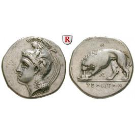 Italien-Lukanien, Velia, Didrachme 334-300 v.Chr., ss-vz