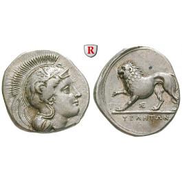 Italien-Lukanien, Velia, Didrachme 334-300 v.Chr., ss-vz/vz