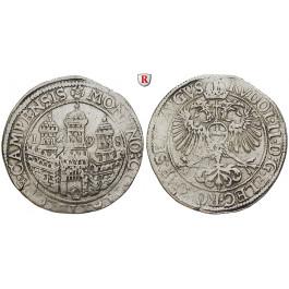 Niederlande, Kampen, Reichstaler 1598, ss