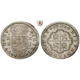 Spanien, Philipp V., 2 Reales 1721, vz-st