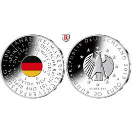 Bundesrepublik Deutschland, 20 Euro 2019, PP