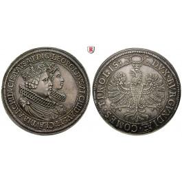 Römisch Deutsches Reich, Erzherzog Leopold V., Doppeltaler o.J. (1626), vz