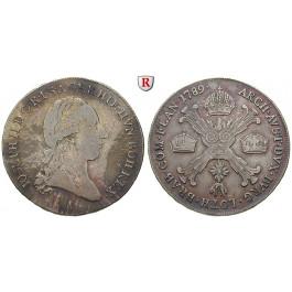 Römisch Deutsches Reich, Joseph II., 1/2 Kronentaler 1789, ss