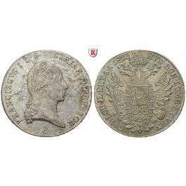 Österreich, Kaiserreich, Franz II. (I.), Taler 1823, vz
