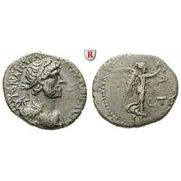 Römische Provinzialprägungen, Kappadokien, Caesarea, Hadrianus, Hemidrachme Jahr 5=121-122, ss+