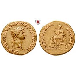 Römische Kaiserzeit, Claudius I., Aureus 46-47, ss-vz