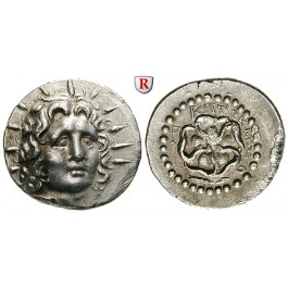Karien - Inseln, Rhodos, Drachme 88-14v.Chr., ss-vz