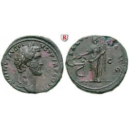 Römische Kaiserzeit, Antoninus Pius, Sesterz 141-143, ss