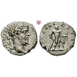 Römische Kaiserzeit, Septimius Severus, Denar 197, vz