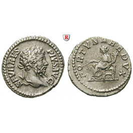 Römische Kaiserzeit, Septimius Severus, Denar 203, vz