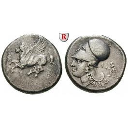 Korinth, Stater 375-300 v.Chr., ss/ss-vz