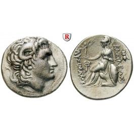 Thrakien, Königreich, Lysimachos, Tetradrachme 288-281 v.Chr., ss