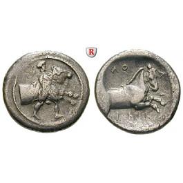 Thessalien, Trikka, Hemidrachme 440-400 v.Chr., ss